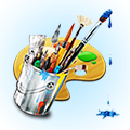 Power Paint - powerful image editor with export to JPG,PNG,Dropbox features.